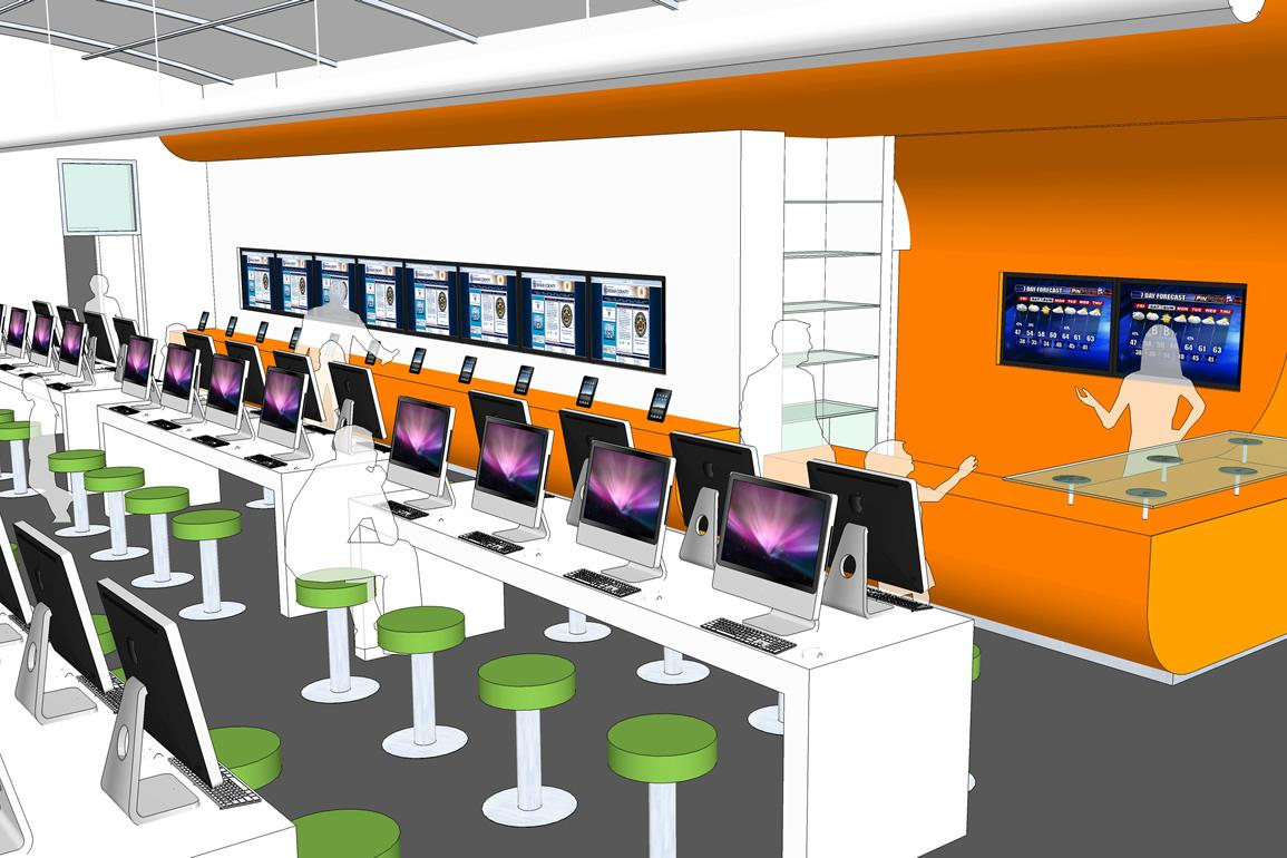 Nation's first all-digital, bookless library opens in