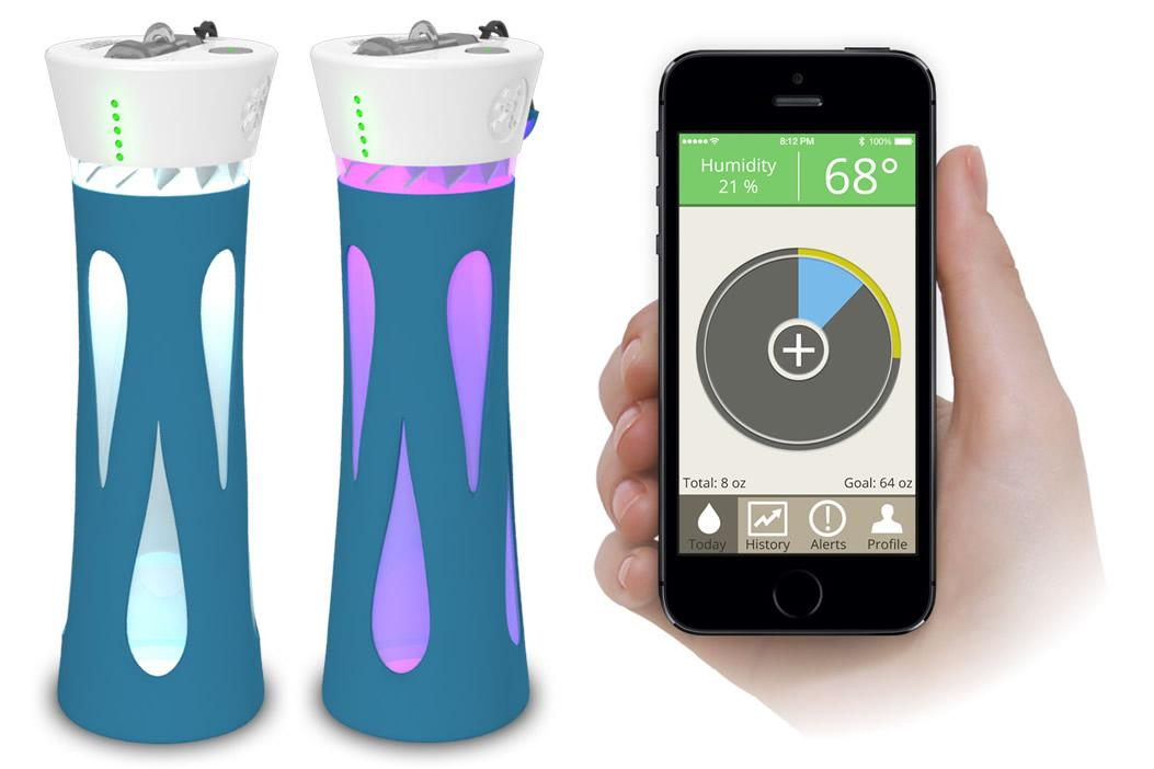 BluFit smart water bottle keeps tabs on your water drinking habits | Digital Trends