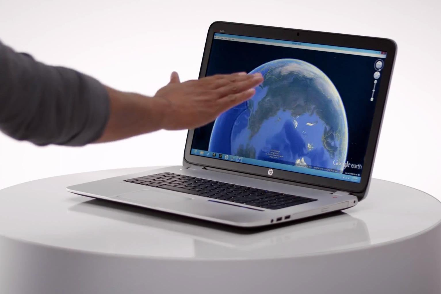 HP debuts first laptop with Leap Motion gesture controls  Digital