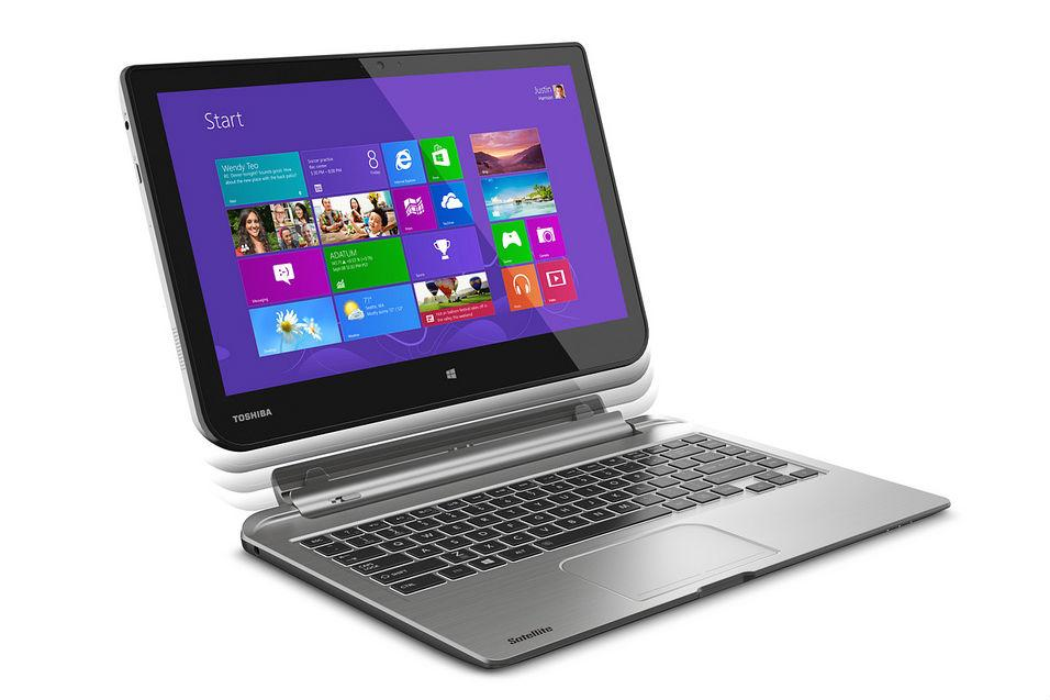 Toshiba unveils AMD-powered hybrid laptop, 8-inch W8 tablet, and ...