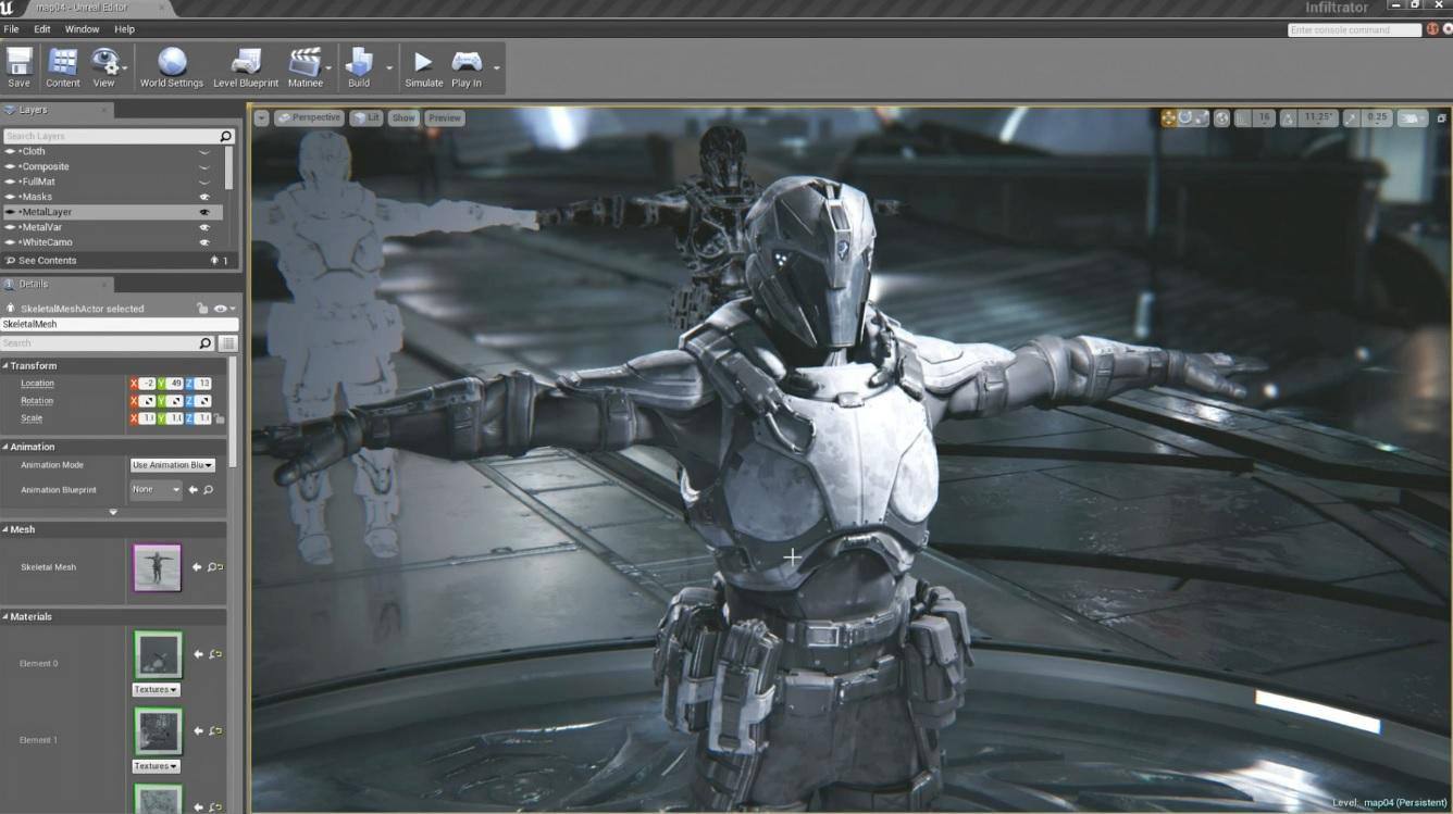 Character Design Unreal Engine 4 : Unreal engine shows off its tools digital trends