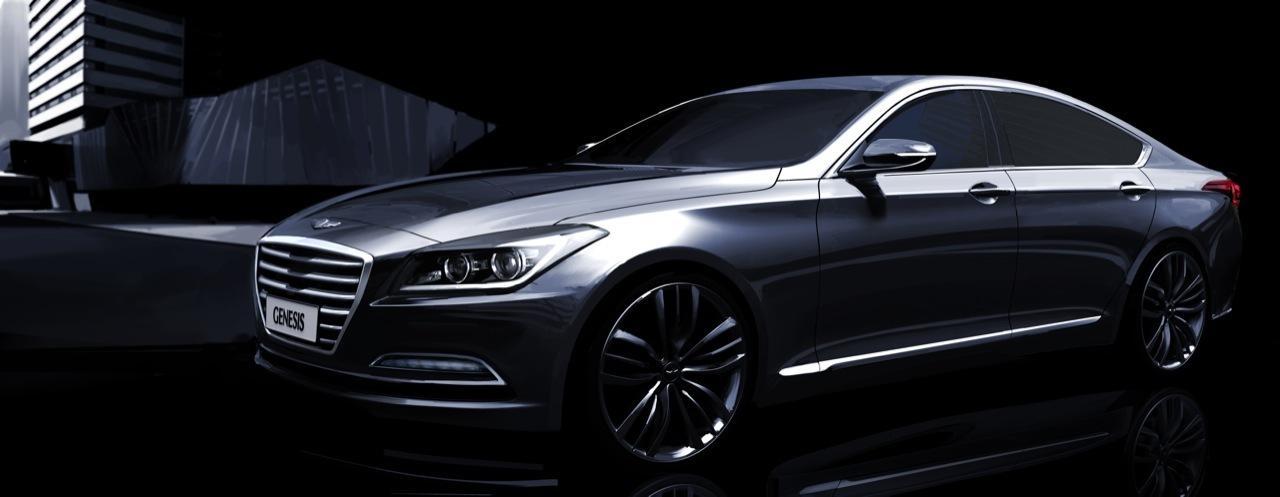 2015 Hyundai Genesis | Official renderings revealed ...