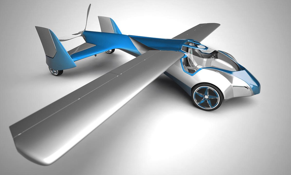 Aeromobile Flying Car >> Aeromobil 2.5 flying car prototype makes its first test flight   Digital Trends