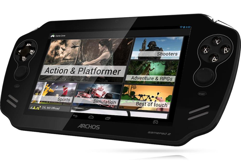 Gamepad 2 launched by Archos