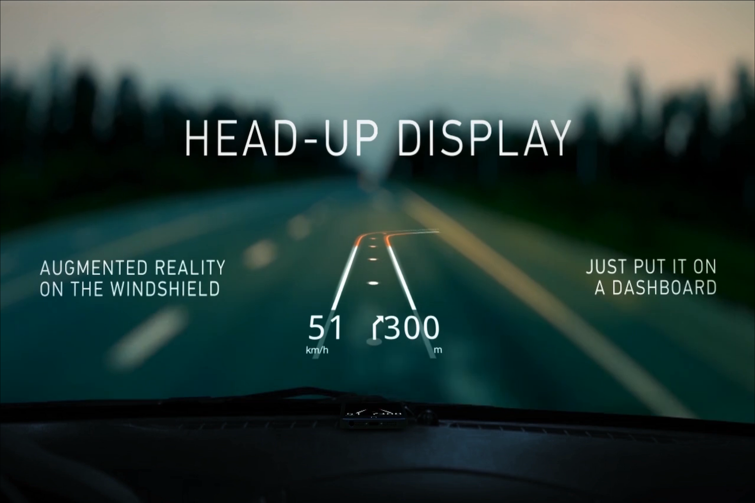 Hudway free head up display app for your iphone for Wallpaper interactivo