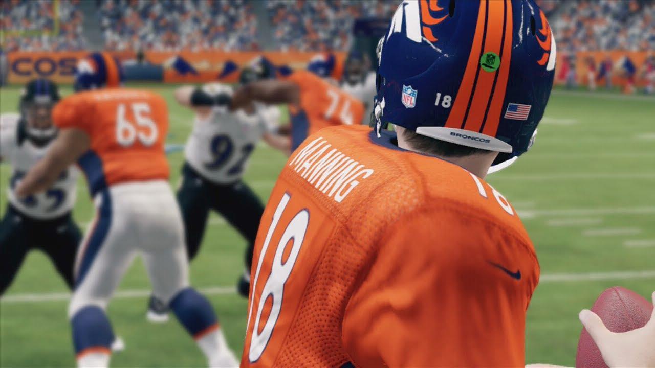 Manning QB in Madden 25