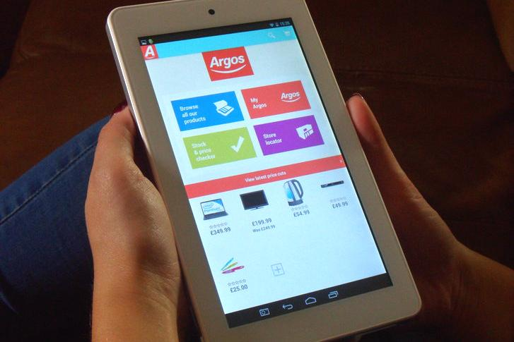 UK retail chain Argos enters tablet market with budget device ...