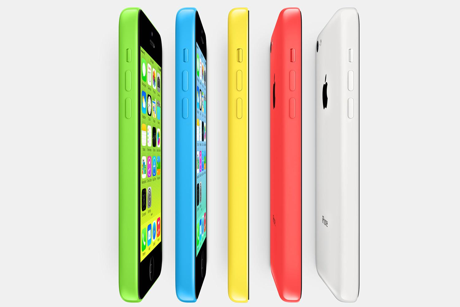 apple launches 8gb iphone 5c digital trends. Black Bedroom Furniture Sets. Home Design Ideas