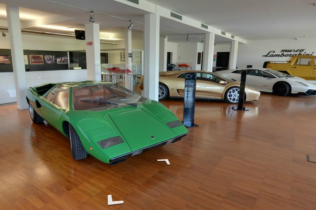 Street View Takes You On A Tour Of The Lamborghini Museum