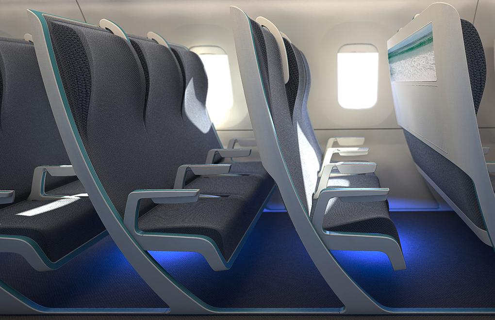 Morph aircraft seat concept lets airlines charge by ...