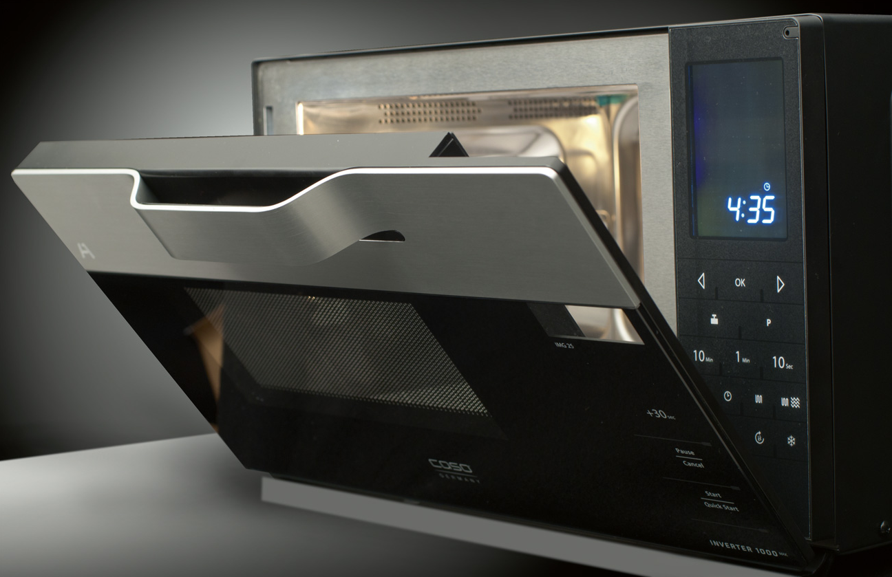 Caso's new inverter microwave can actually cook stuff ...