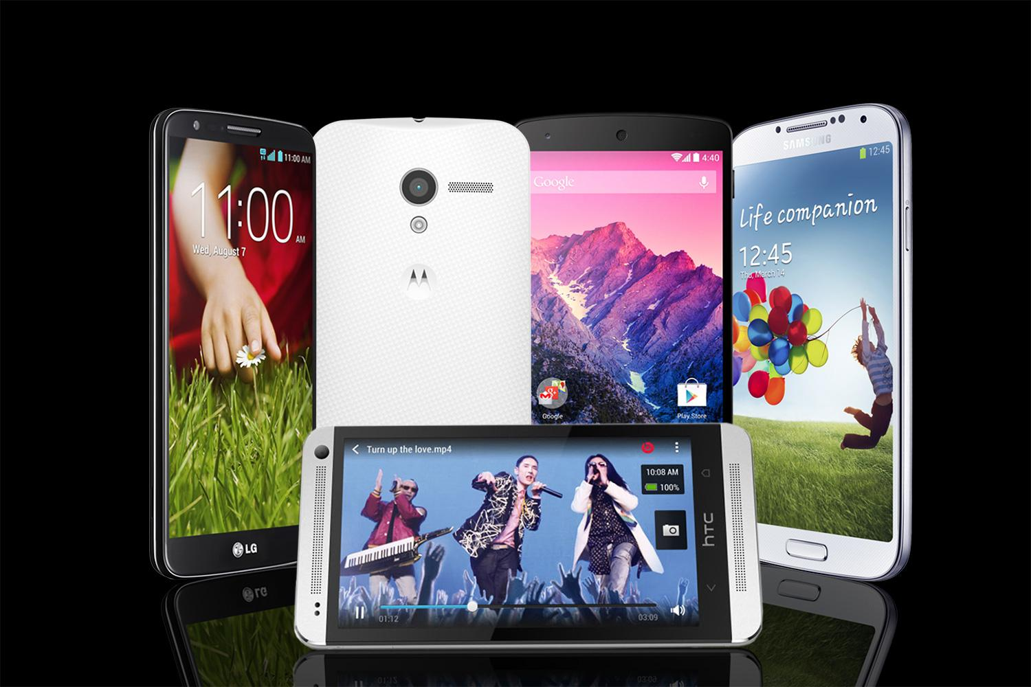 The 5 hottest Android phones of 2013 square off in our side-by-side spec comparison