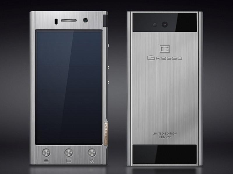 Gresso S Solid Titanium Android Phone On Sale For 1 800