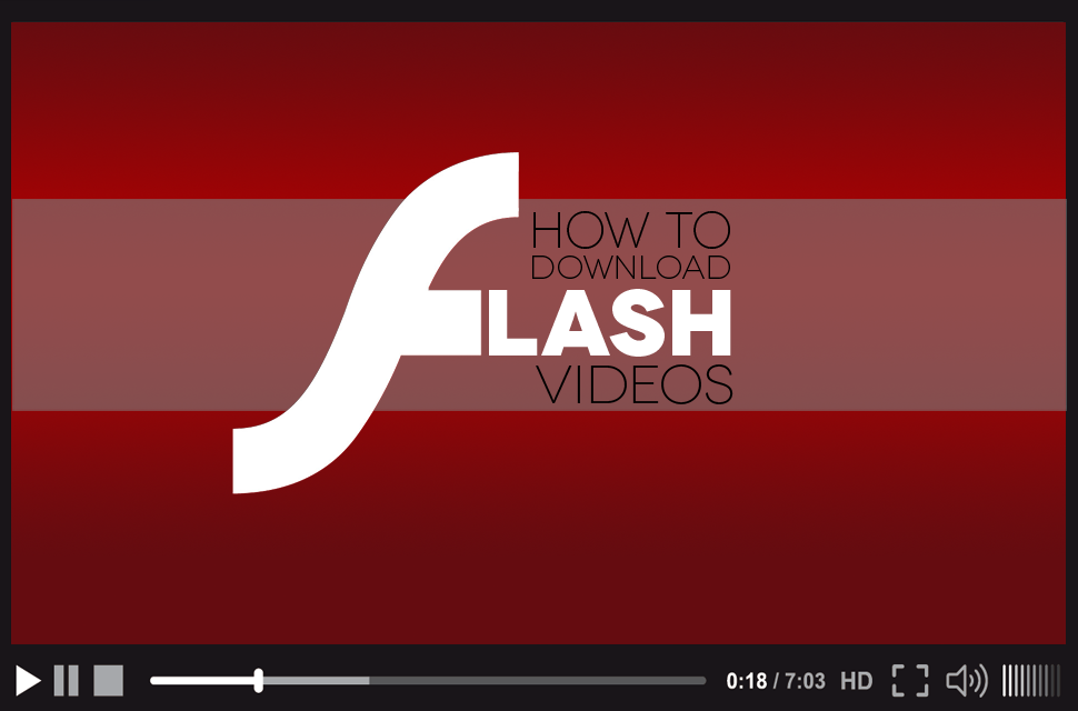 how to download flv videos