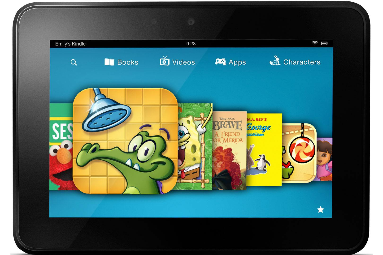 Amazon adds educational goals for kids on Kindle Fire tablets   Digital Trends