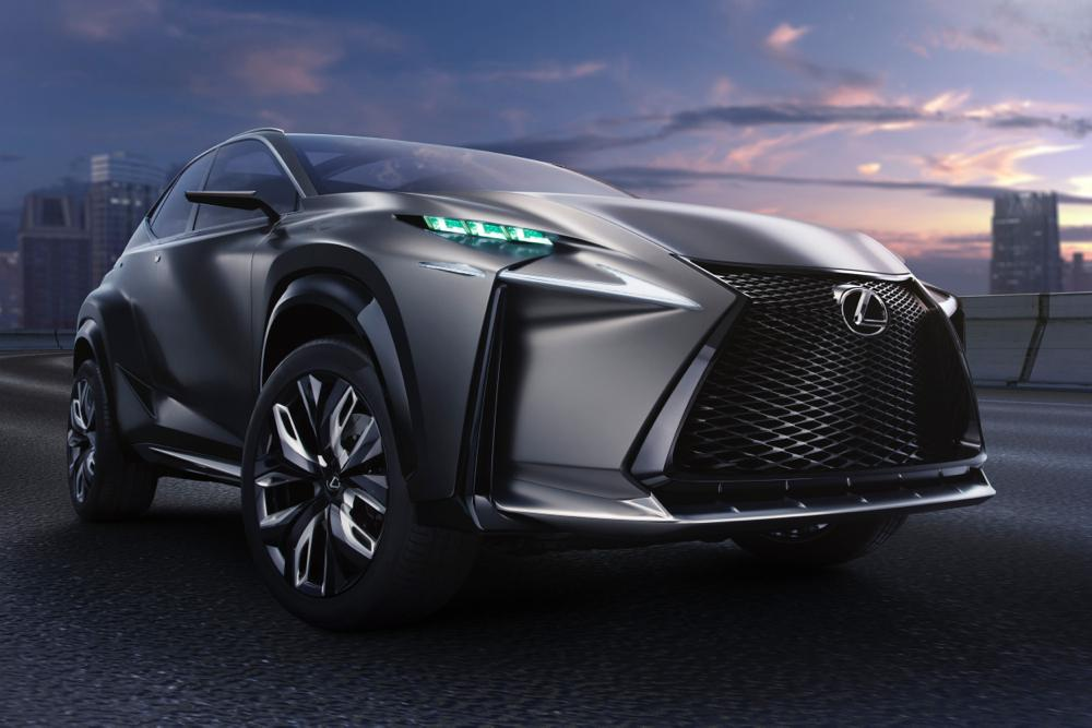 lexus nx compact crossover to debut at geneva motor show digital trends. Black Bedroom Furniture Sets. Home Design Ideas