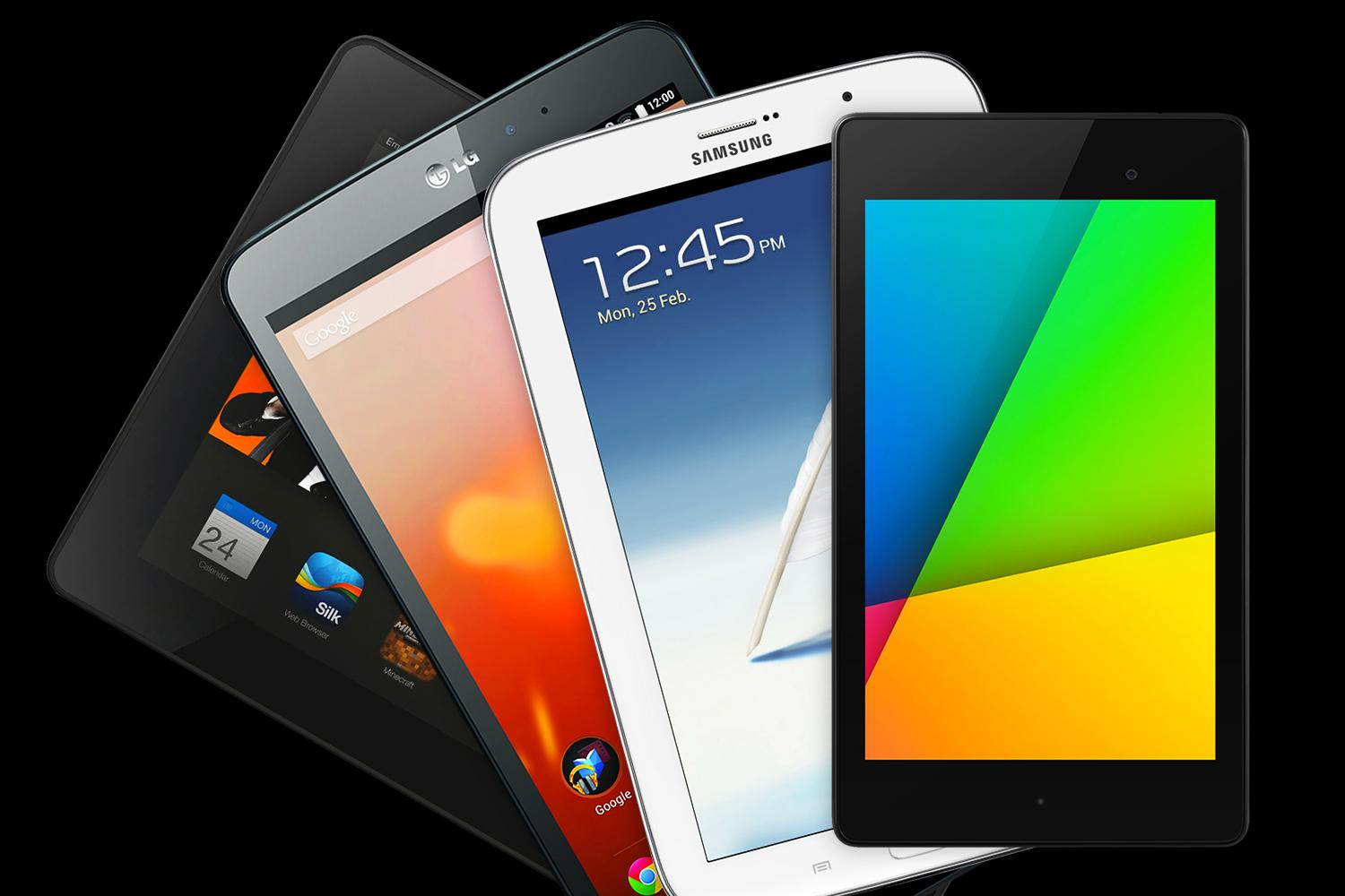 best tablet nexus 7 vs kindle fire hdx vs g pad vs galaxy note 8 digital trends. Black Bedroom Furniture Sets. Home Design Ideas
