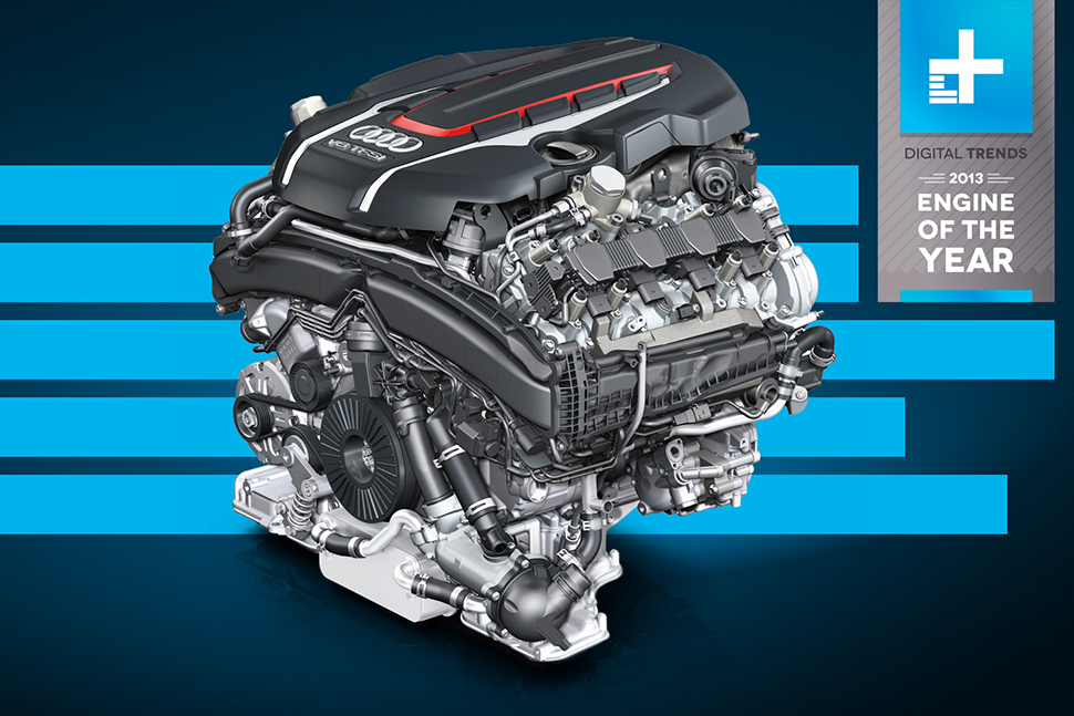 Digital Trends Engine of the Year: Audi's 4.0 TFSI V8 ...