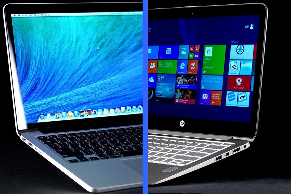 apple macbook pro 13 with retina vs hp spectre 13t