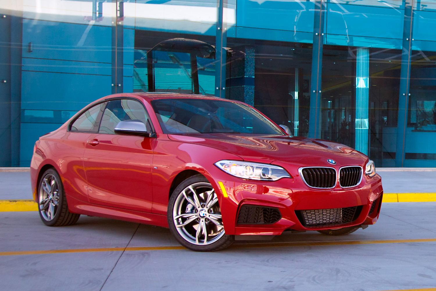 2014 bmw m235i coupe front right