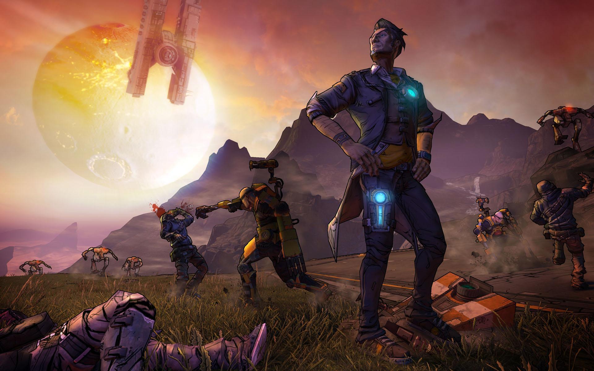 New Action Games For Ps3 : Borderlands arrives in spring alongside the u s ps