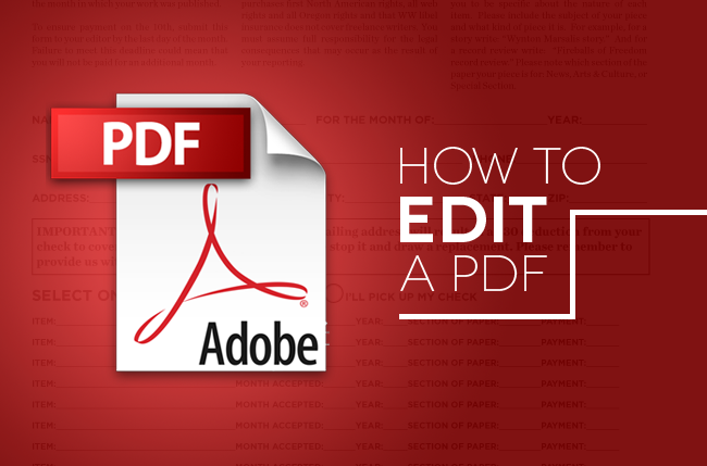 How to edit a pdf tips tricks and software digital trends how to edit a pdfs ccuart Choice Image