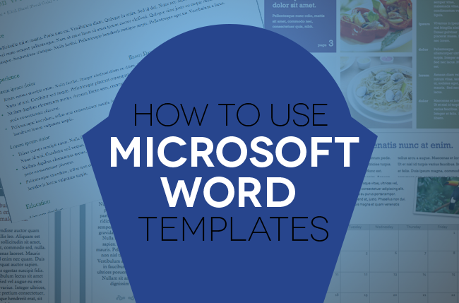 How to use document templates in microsoft word digital trends for Microsoft word graphic design