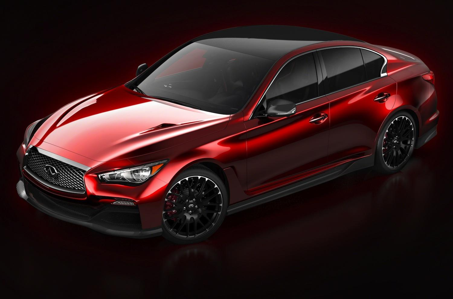 infiniti q50 eau rouge concept revealed before detroit. Black Bedroom Furniture Sets. Home Design Ideas