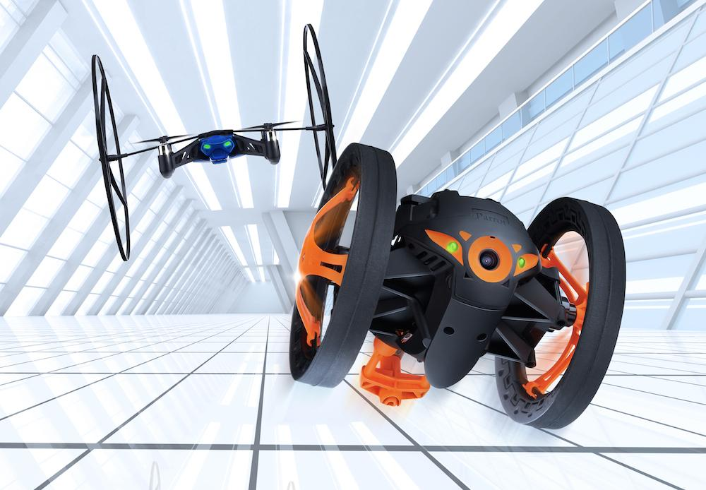 Parrot Unleashes New Minidrone And Jumping Sumo Bot At Ces