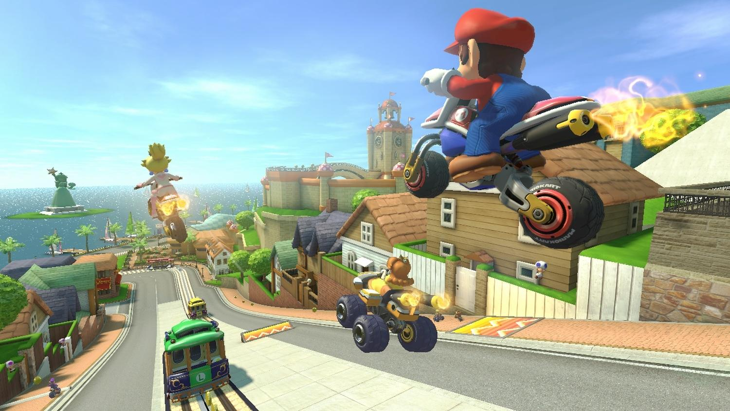 nintendo reveals more mario kart 8 wii u details digital. Black Bedroom Furniture Sets. Home Design Ideas