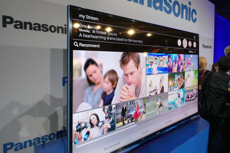 panasonic debuts 4k led tv series touts 39 plasma like. Black Bedroom Furniture Sets. Home Design Ideas