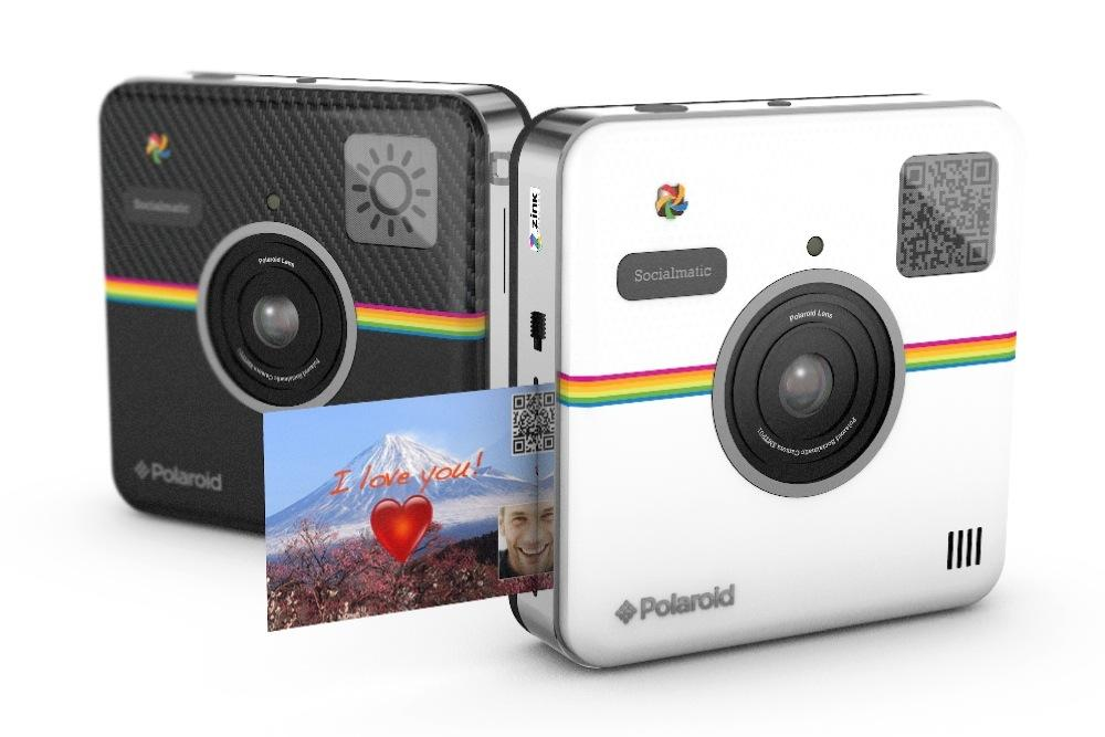 CES 2014 Socialmatic: Polaroid camera connects to Instagram ...