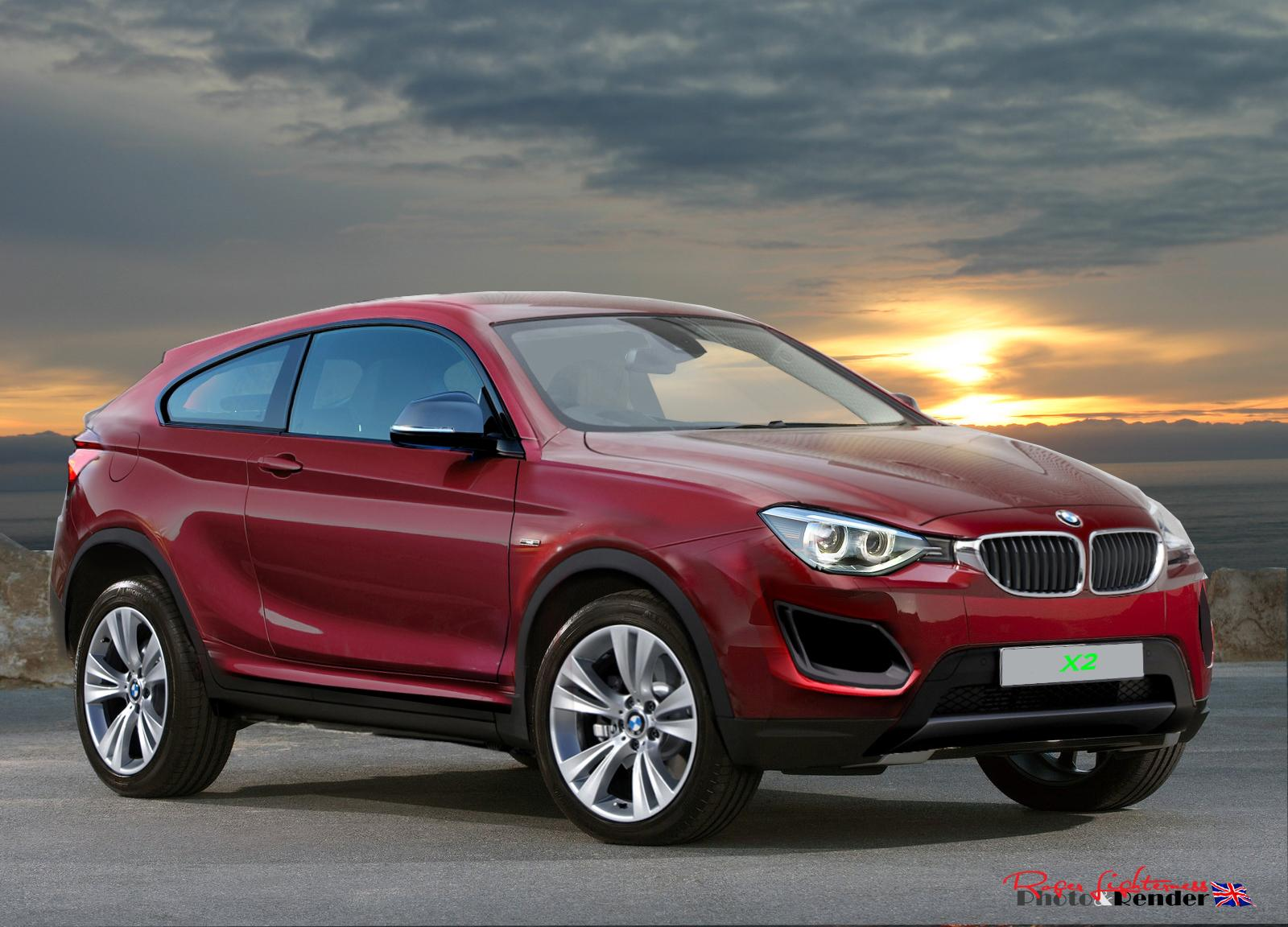 Bmw S X2 Coupe Like Crossover Set For 2017 Production And