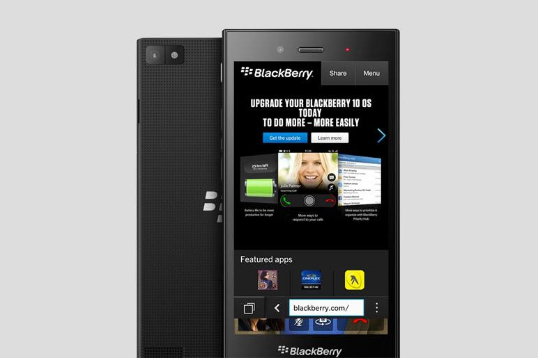 BlackBerry Z3 touchscreen phone leaked, could arrive ...