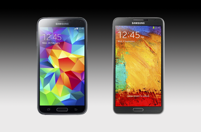 Galaxy S5 vs Galaxy Note 3 | Spec Comparison | Digital Trends