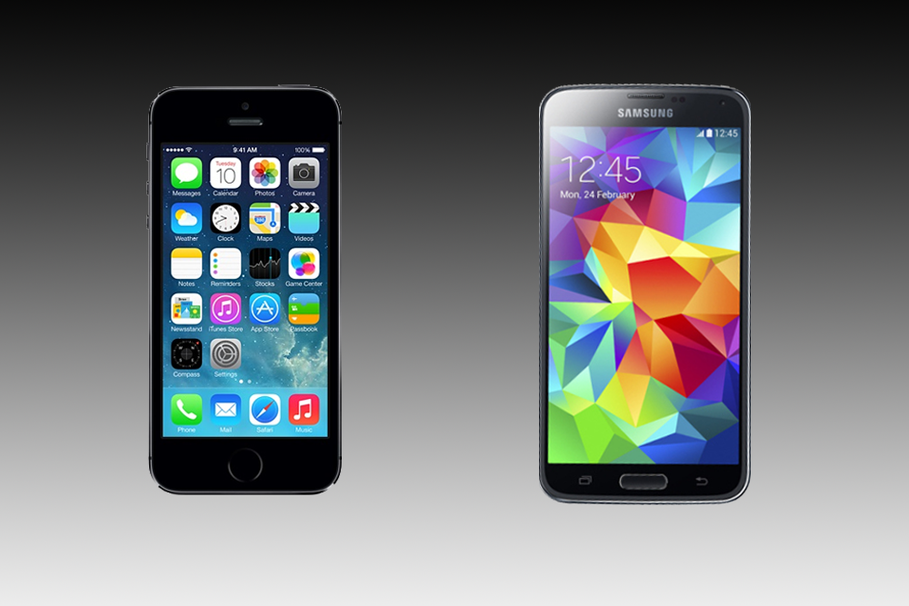Galaxy S5 Vs Iphone 5s Spec Showdown Digital Trends