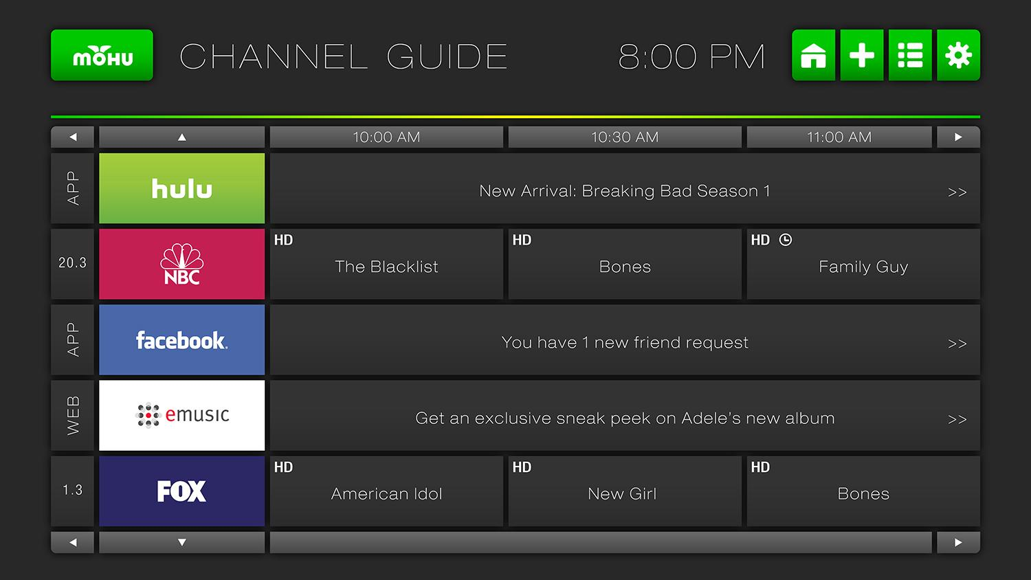 Mohu channels ships to backers adds web video curation digital trends Home tv channel