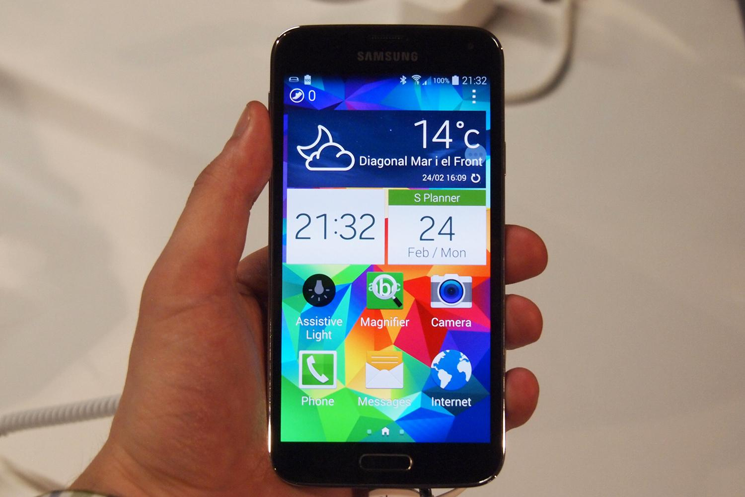 Galaxy S5 Has Best Smartphone Display On The Market