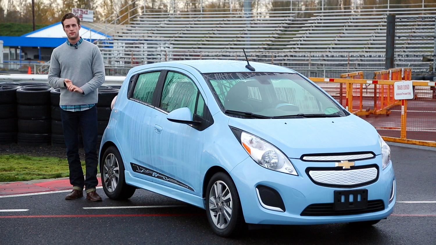 Setting the unofficial mileage record in the Chevy Spark EV