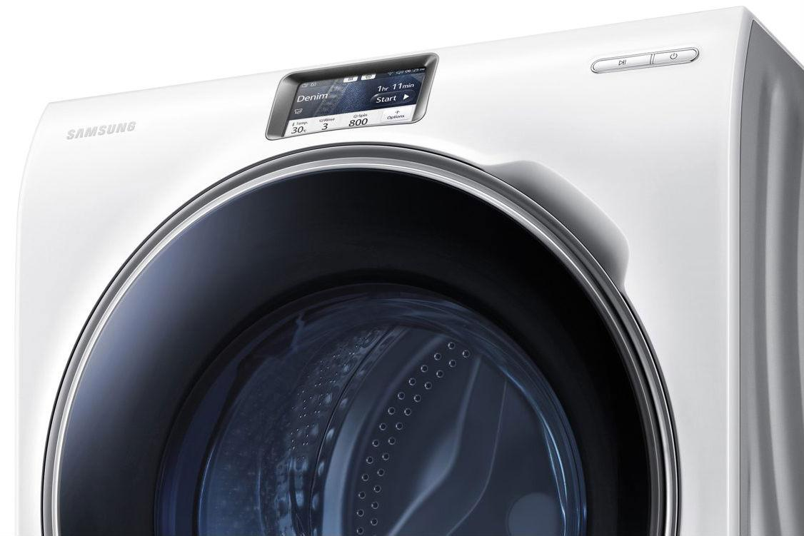 samsung 39 s latest washer lets you do your laundry from your phone digital trends. Black Bedroom Furniture Sets. Home Design Ideas