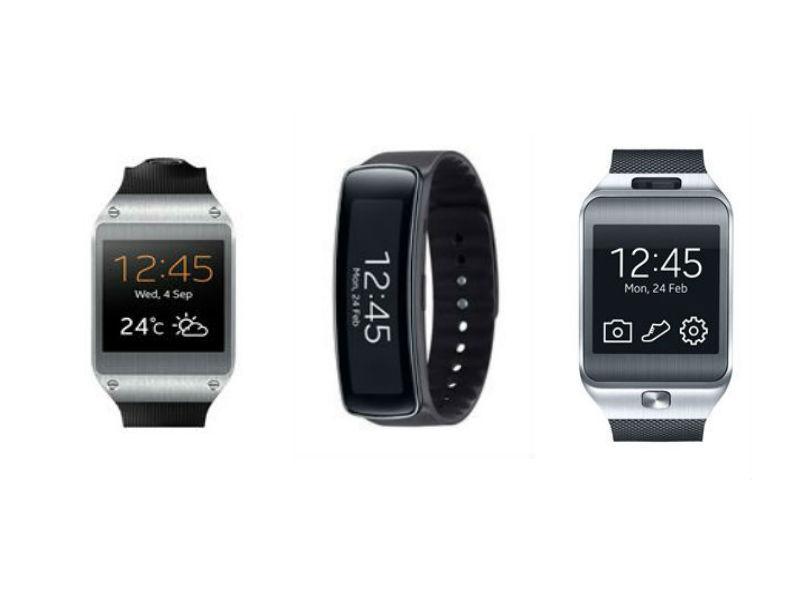 Gear Fit vs. Gear 2 vs. Galaxy Gear: Which Smartwatch is ...