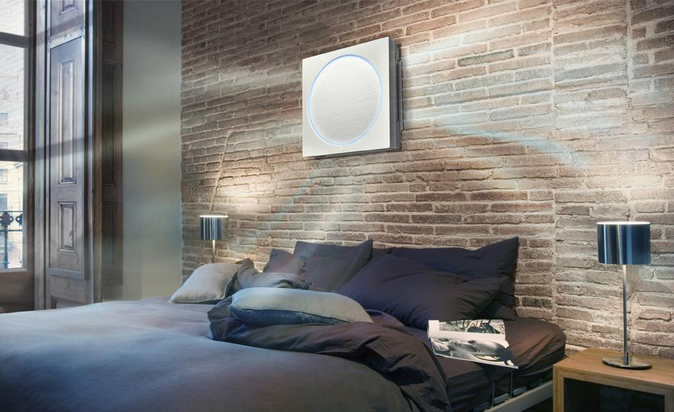 lg just made the best looking air conditioner you 39 ve ever laid eyes on digital trends. Black Bedroom Furniture Sets. Home Design Ideas