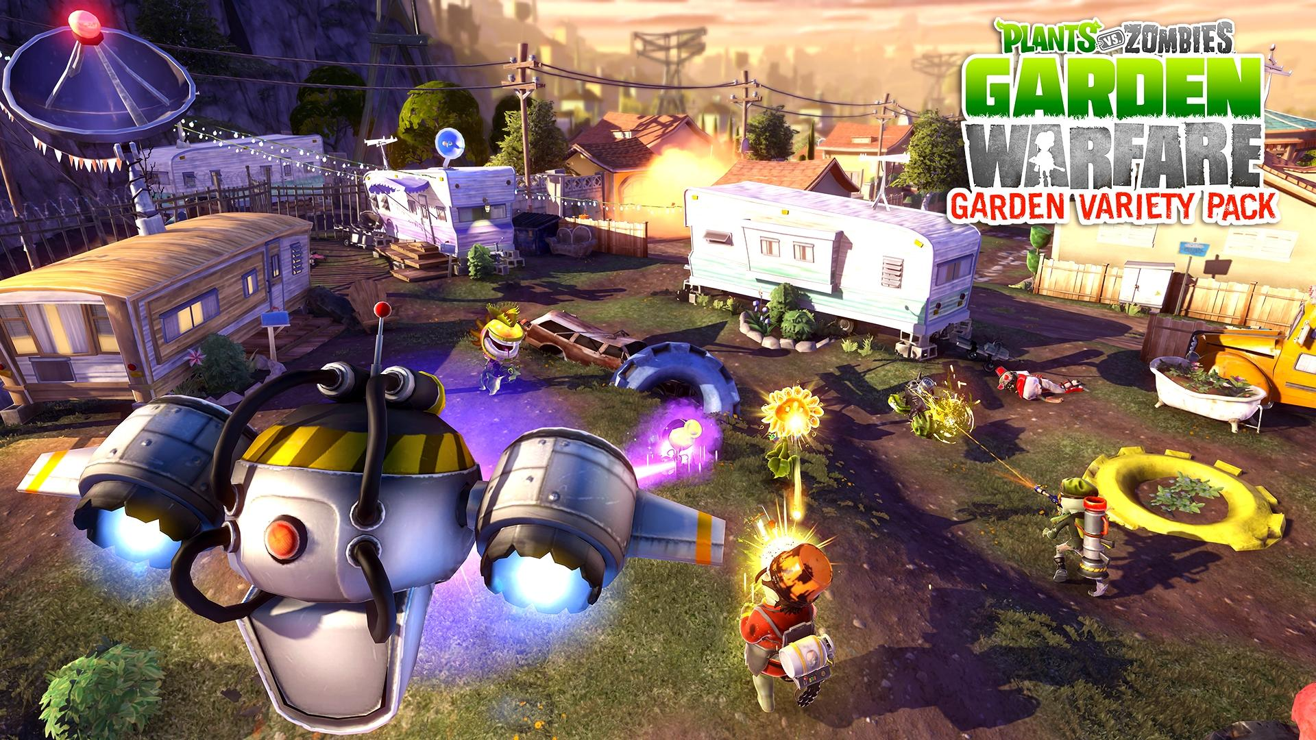 Plants vs zombies garden warfare due for free dlc this for Plante vs zombie garden warfare 2
