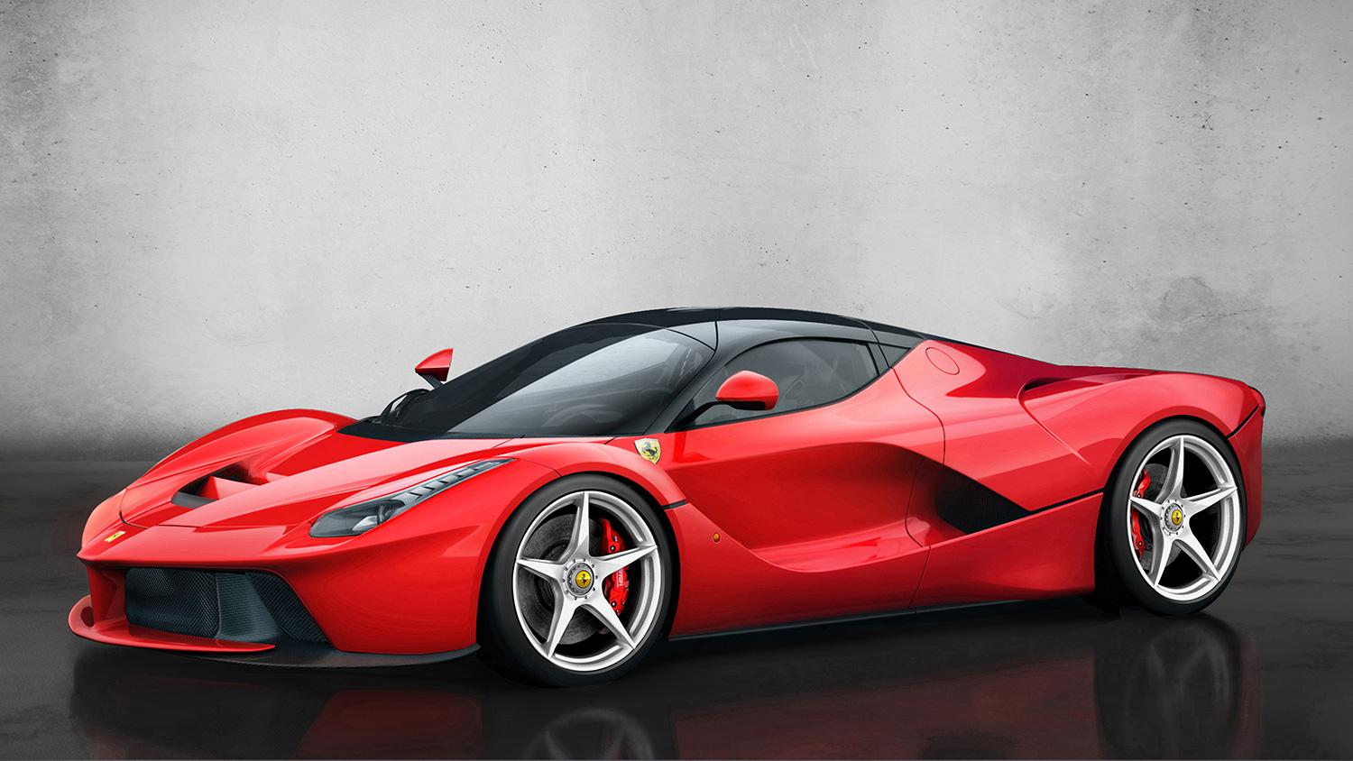 the motoring world ferrari gives v12 laf number plate to the henry surtee 39 s foundation to. Black Bedroom Furniture Sets. Home Design Ideas