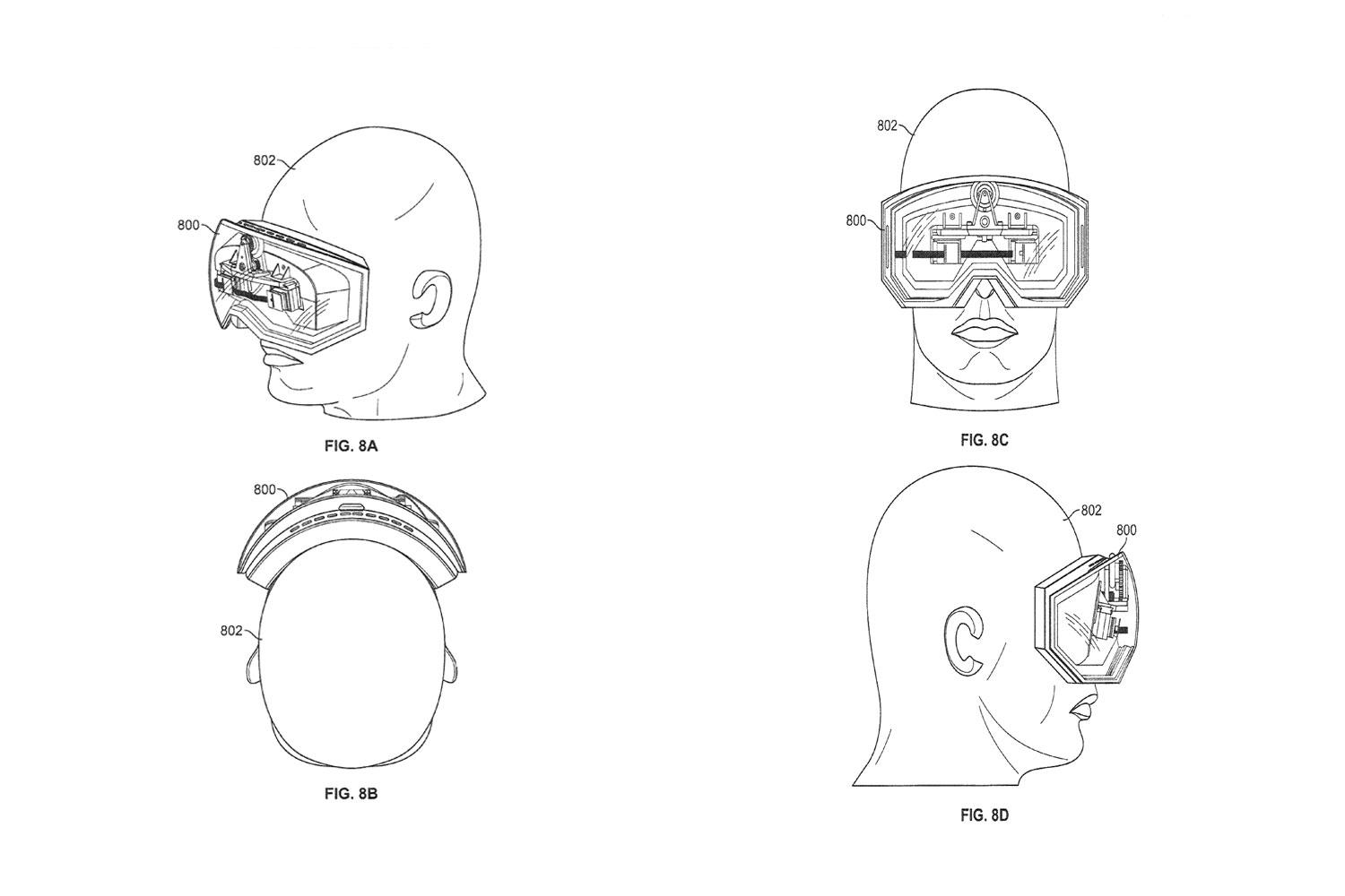 apple granted patent for mobile 3d goggles