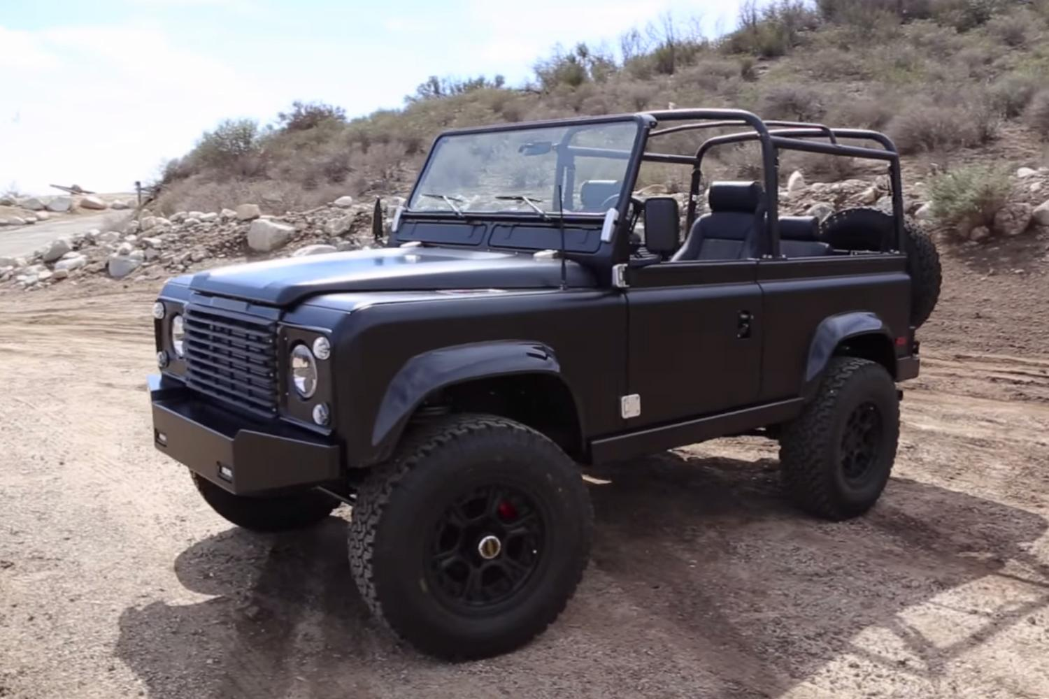 Icon 4x4 Land Rover Defender D90 Transformation Video