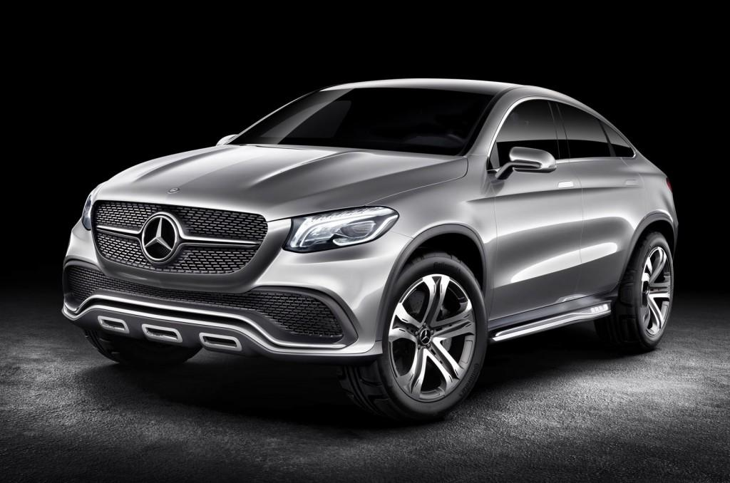 mercedes benz previews future bmw x rival concept coupe suv form ahead beijing motor show - Mercedes Benz Suv 2014 Price
