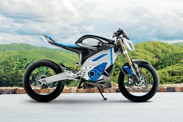 yamaha pes1 is the ev motorcycle headed for 2016. Black Bedroom Furniture Sets. Home Design Ideas