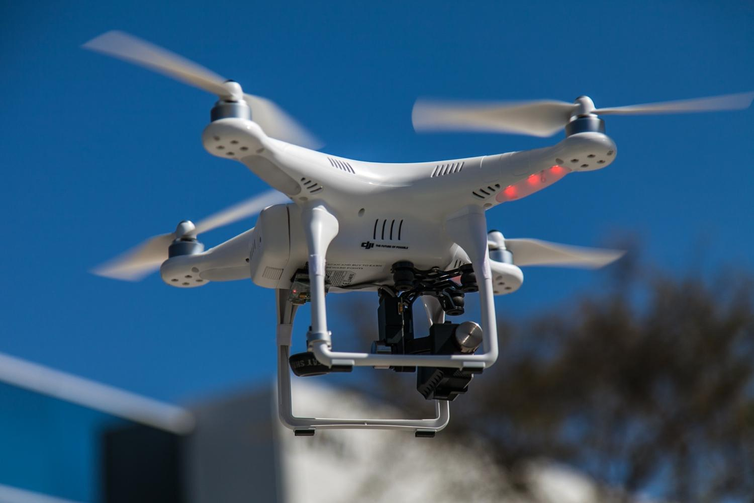 An Ohio man faced a felony charge for using an aerial drone, like this ...