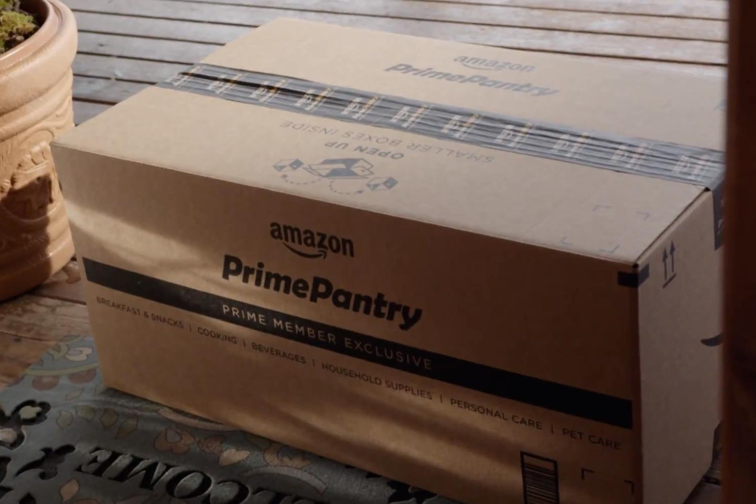 Amazon Takes On The Grocery Store With Prime Pantry